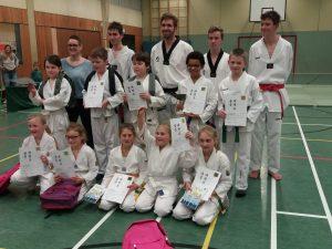 Kupprüfung Taekwondo 20.12.2018